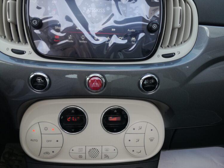 FIAT 500 1.2 LOUNGE SERIE 7 TETTO PANORAMA ELETTRICO KM ZERO PREZZO REALE